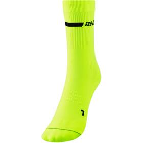 cep Neon Mid-Cut Socks Women, giallo